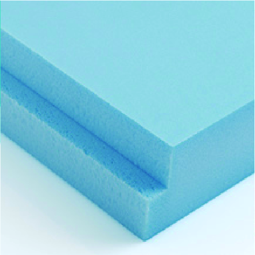 XPS Poliestireno Extrudido Isolamento Terraço Azul (1250x600)